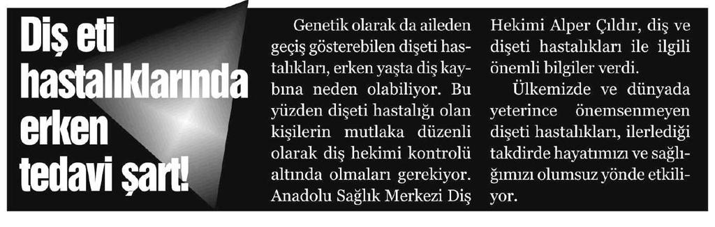 Anadolu Manşet