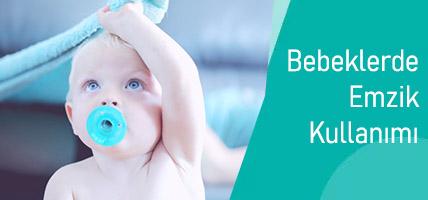 Bebeklerde Emzik Kullanımı Diş Gelişimini Nasıl Etkiler? Dikkat Edilmesi Gerekenler